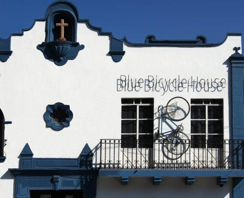 Blue Bicycle House