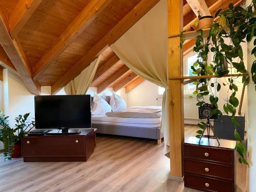 Kuschelige Ferienwohnung mit Balkon & Free Wifi - Apartment - Buchenberg