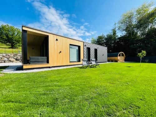 Voralpen Lodge mit Outdoor Sauna & Whirlpool - Hotel - Traisen