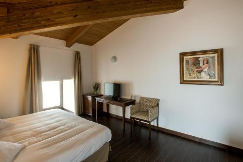 Habitación Doble Superior - 1 o 2 camas Palacio del Infante Don Juan Manuel Hotel Spa 8