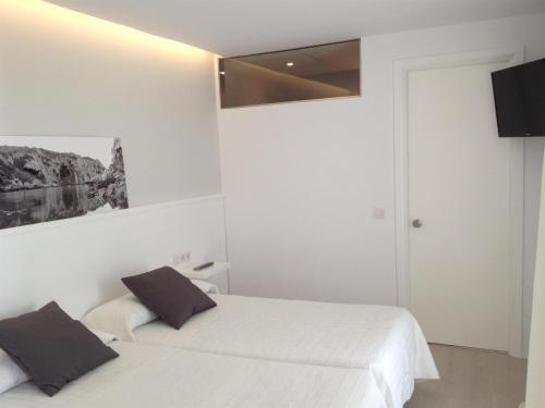Economy Zweibettzimmer Hostal La Palma 13
