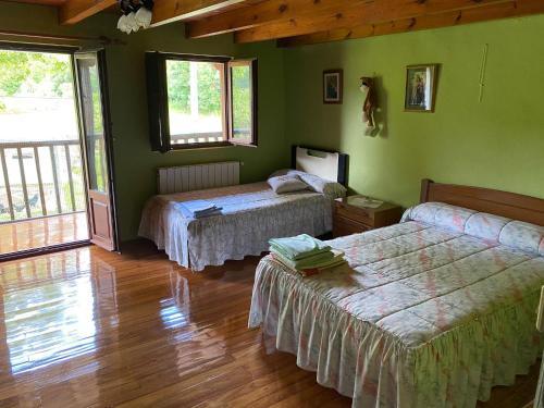 Accommodation in Hazas de Cesto