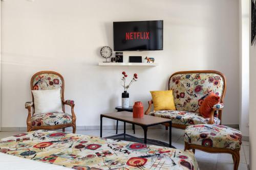 . Le Kandinsky | Appartement rénové 1 pièce