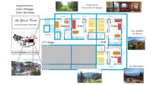 La Grande Cordée - Cœur d'Alpage - Hotel - Combloux