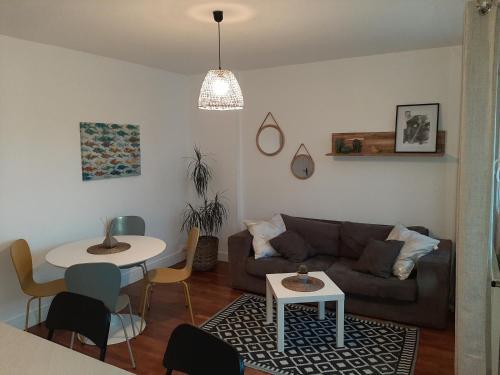 O'CALM 2 Chambres et Balcon - Location saisonnière - Granville
