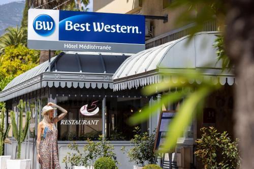 Best Western Hotel Mediterranee Menton - Hôtel - Menton
