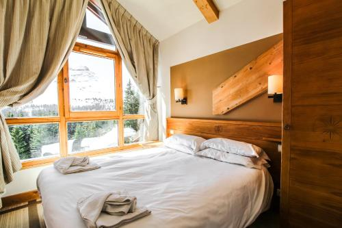 Cosy, modern 2-bed with fireplace & beautiful views Flaine