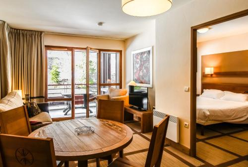 Large one-bedroom apartment, wheelchair adapted, Les Terrasses d'Eos Flaine