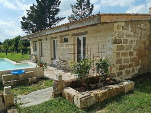 Saint-Emilion 8km Superbe Villa ,Piscine, jardin - Location saisonnière - Sainte-Terre