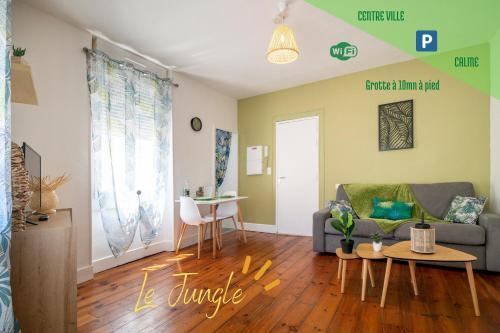 Le JUNGLE--HYPER CENTRE--TOUT CONFORT--WIFI - Location saisonnière - Lourdes