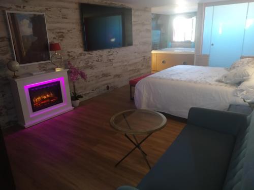 King Room with Spa Bath Hotel Real Posada De Liena 2
