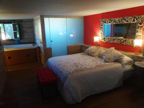 King Room with Spa Bath Hotel Real Posada De Liena 5