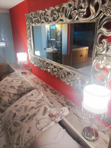 King Room with Spa Bath Hotel Real Posada De Liena 7