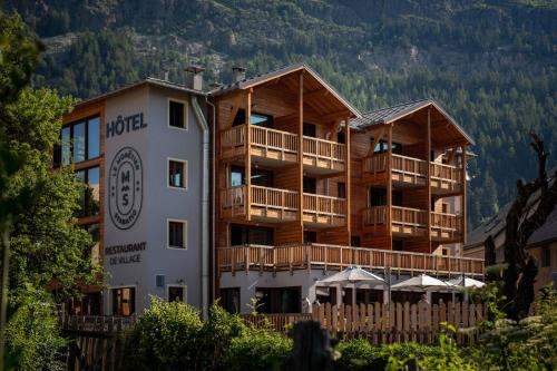 Hôtel restaurant Le Monêtier - Hotel - Le Monêtier-les-Bains