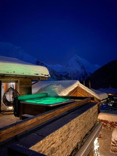 Boutique Lodge Spycher - Accommodation - Saas-Fee