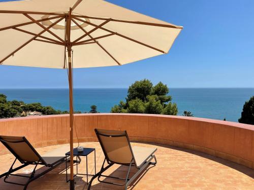 Junior Suite mit Terrasse Soho Boutique Castillo de Santa Catalina 12