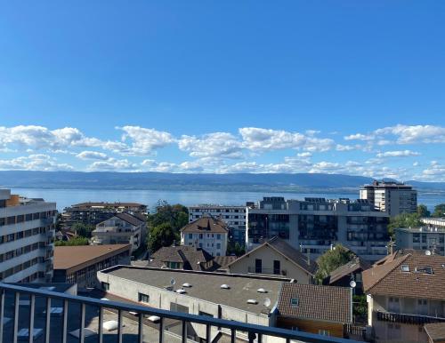 T2 centre de Thonon avec vue lac - Location saisonnière - Thonon-les-Bains