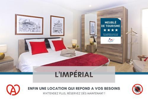 L'IMPERIAL - Centre Ville - Parking - Fibre THD - 5 Pers - Apartment - Saverne