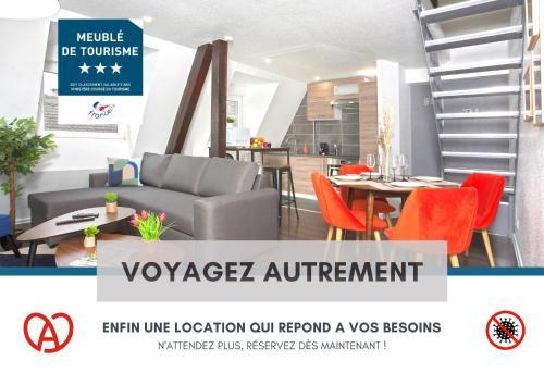 Le Cosy - Centre Ville - Wifi THD - 4 Pers - Apartment - Haguenau