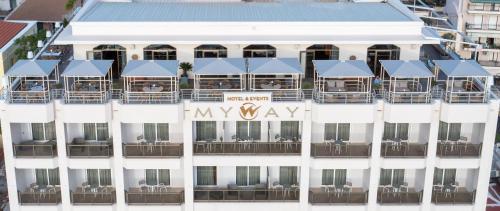 My Way  & Events, Pension in Patras