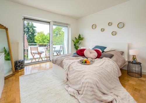 2OG Rechts - Wunderschöne 80m2 3-Zimmer City Wohnung nähe Salzburg - Apartment - Freilassing