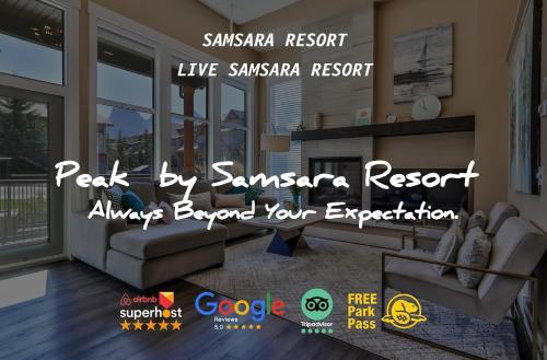 The Peak by Samsara Resort - Panorama Top View - 4BR & 5BTH - Hotel - Canmore