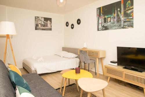 Superbe studio entièrement neuf à Poitiers - Location saisonnière - Poitiers