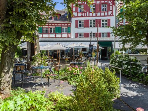 Hofgarten Luzern, Pension in Luzern