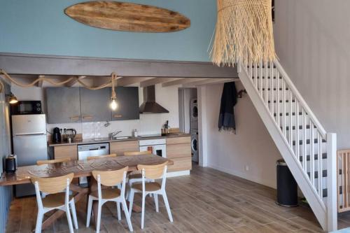 Loft Surfeur 4/6 personnes - Les Sables proche mer - Location saisonnière - Les Sables-d'Olonne
