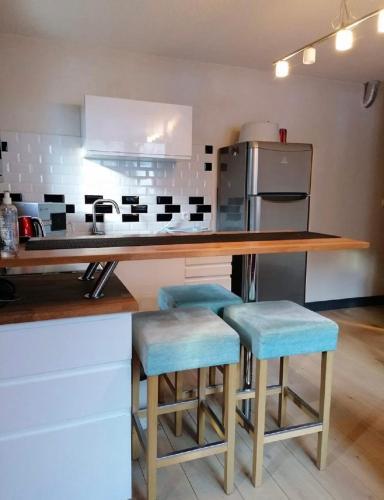 Très bel appartement face au lac de Bozel - Apartment