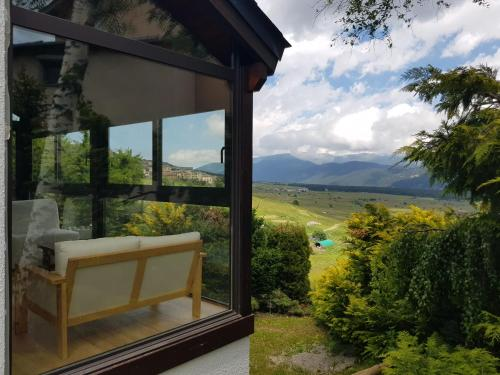 chalet au pied des pistes avec vue panoramique et jardin - Chalet - Les Angles