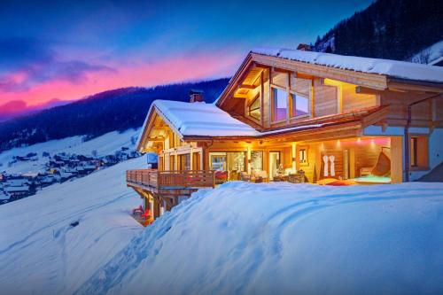 Alpine luxury chalet with spa kids area & amazing views - OVO Network - Chalet - Le Grand Bornand