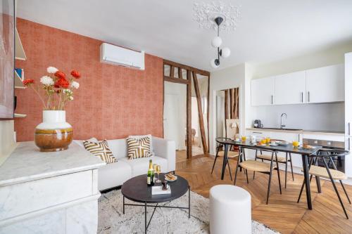 1.Luxury New Flat/Full Equipped/Champs Elysees/AR - Location saisonnière - Paris