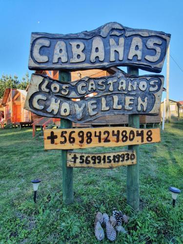 Cabañas Los Castaños Chovellén