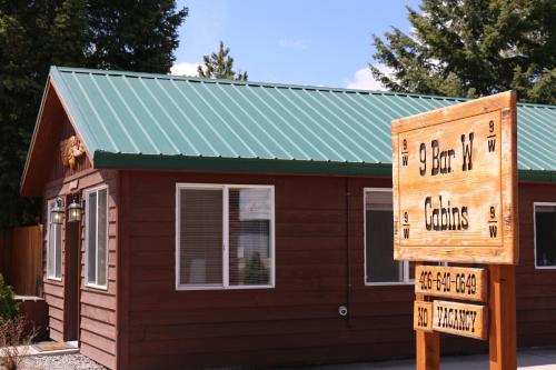 9-W Cabins - West Yellowstone, MT 59758