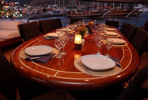 Bodrum City Barbaros Yachting Luxury Private Gulet 5 Cabins