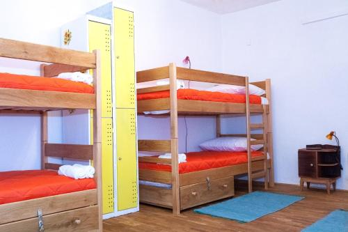 Single Bed in Mixed 5 Bed Dormitory Room