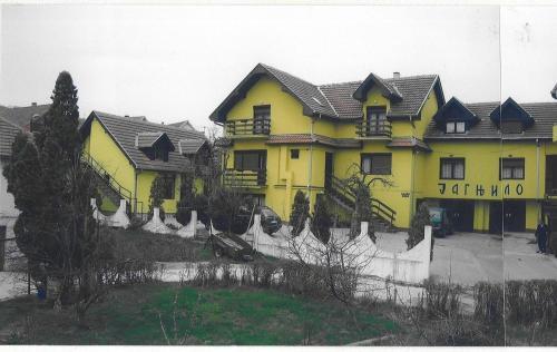 UTR Jagnjilo 1986 - Hotel - Raška