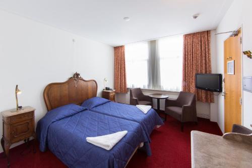 Amsterdam Wiechmann Hotel Двухместный номер с 2 отдельными кроватями
