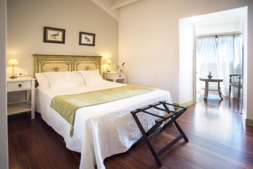 Habitación Doble Superior con terraza Hotel Quinta de San Amaro 18