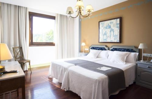 Double Room - single occupancy Hotel Quinta de San Amaro 15
