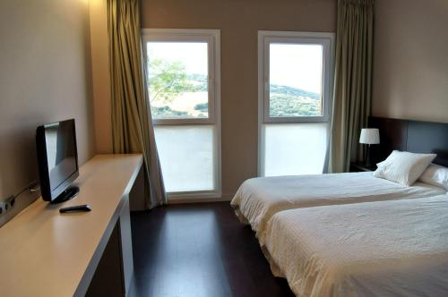 Double or Twin Room with Mountain View Hotel Valdorba 5