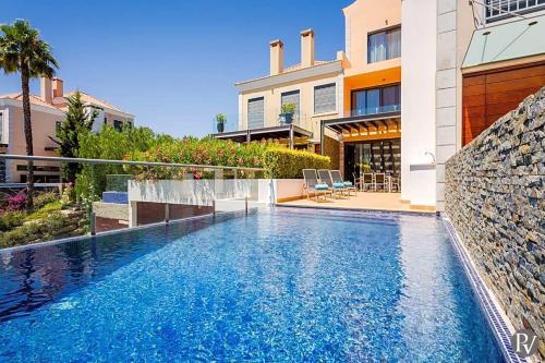 Vale Do Lobo Villa Sleeps 6 Pool Air Con Wifi