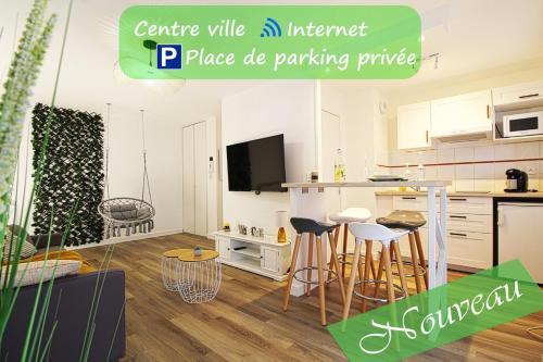 L'Evasion Lourdaise Terrasse Centre Parking wifi - Location saisonnière - Lourdes