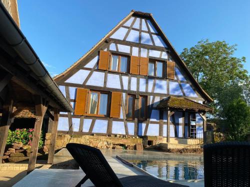 Le Clos Bleu - Chambres d'Hôtes - Chambre d'hôtes - Schillersdorf