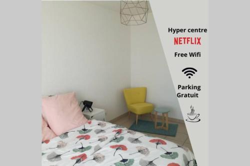 Grenade Citystay hypercentre Airbus Wifi Free - Apartment - Grenade-sur-Garonne