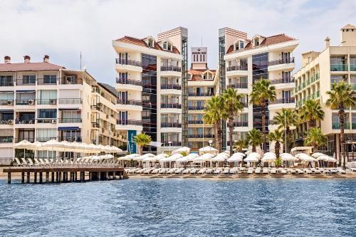 Marmaris Poseidon Hotel - Scene concept tatil