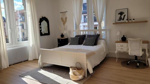 NOUVEAU Gite Attrape Rêves CENTRE VILLE 6 couchages 3 grandes chambres - Location saisonnière - Colmar