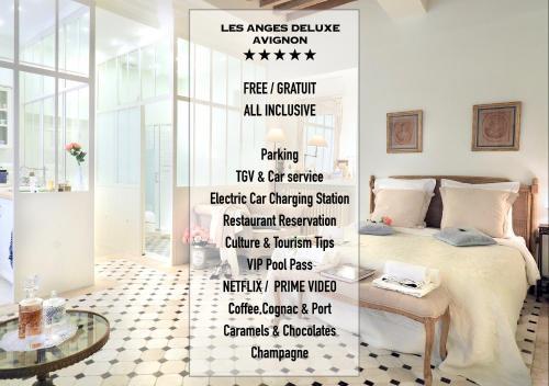 Les Anges - Deluxe Suite - Palais des Papes Avignon - Apartment