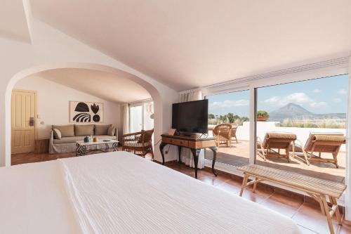 Suite Superior con cama extragrande Hotel Ritual de Terra & SPA 1